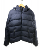 Pyrenex(ピレネックス)の古着「ショートダウンジャケット」|ネイビー