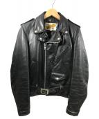Schott(ショット)の古着「ヴィンテージライダースジャケット」|ブラック