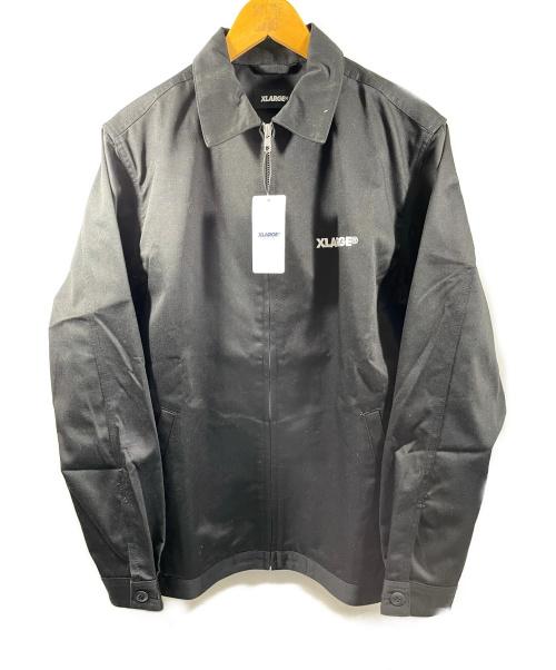X-LARGE×BOUNTY HUNTER(エクストララージ×バウンティーハンタ)X-LARGE×BOUNTY HUNTER (エクストララージ×バウンティーハンタ) ジップワークジャケット ブラック サイズ:Mの古着・服飾アイテム