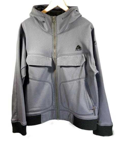 NIKE ACG(ナイキエージーシー)NIKE ACG (ナイキエージーシー) ZIPUP FLEECE BLOUSON グレー サイズ:Lの古着・服飾アイテム