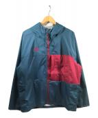 NIKE ACG(ナイキエィシージー)の古着「2.5L PCK ジャケット」 ブルー×レッド