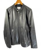 FREAKS STORE(フリークスストア)の古着「レザージャケット」 ブラック
