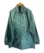 ()の古着「デサント社製ナイロンパーカー」|グリーン