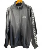 KAPPA(カッパ)の古着「90sオーバーサイズラインジャージ」|ブラック