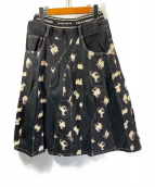 ()の古着「シルクロードJQスカート」|ブラック