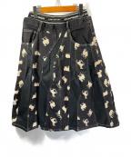 FRAPBOIS(フラボア)の古着「シルクロードJQスカート」 ブラック