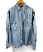 ()の古着「ヴィンテージデニムシャツ」|ブルー