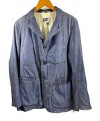 ()の古着「3Bジャケット」|ブルー