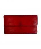 LOUIS VUITTON()の古着「長財布」|レッド
