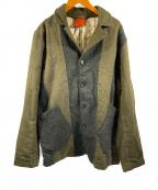 KATO(カトー)の古着「ウールジャケット」|グリーン×ネイビー