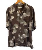 OLD JOE & Co.(オールドアンドジョー)の古着「アロハシャツ」|ブラウン