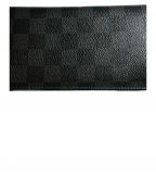 LOUIS VUITTON()の古着「長財布」|ブラック×ブルー