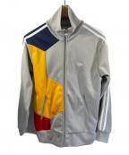 adidas Originals(アディダスオリジナル)の古着「トラックジャケット」|グレー