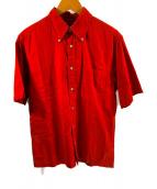 ()の古着「半袖シャツ」 ブラウン