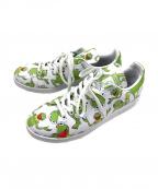 adidas Originals()の古着「スニーカー」 ホワイト×グリーン
