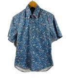 GITMAN BROS(ギットマンブラザーズ)の古着「アロハシャツ」 ブルー