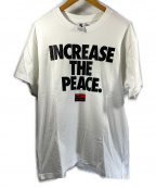 NIKE×STUSSY(ナイキ×ステューシー)の古着「プリントTシャツ」|ホワイト