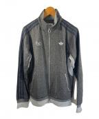 adidas(アディダス)の古着「ウールトラックジャケット」|グレー