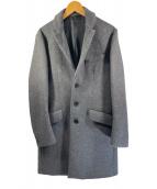 ()の古着「ウールチェスターコート」 グレー