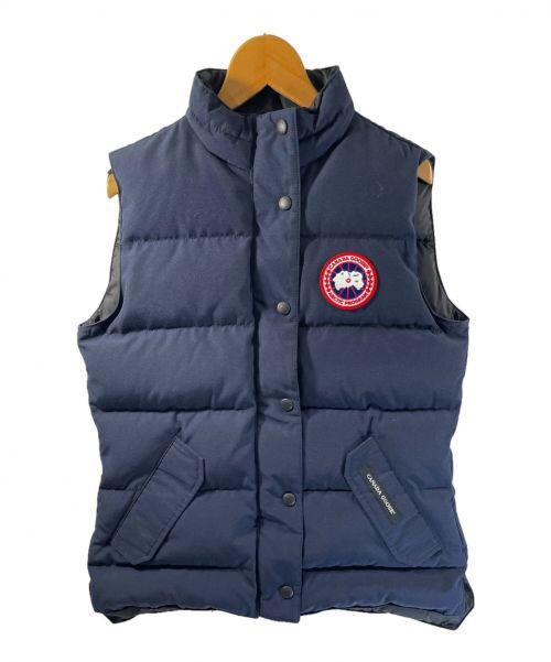 CANADA GOOSE(カナダグース)CANADA GOOSE (カナダグース) フリースタイルベスト ネイビー サイズ:Sの古着・服飾アイテム
