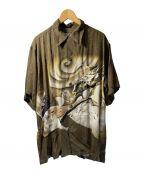 Sun Surf()の古着「アロハシャツ」|ブラウン