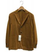 BOGLIOLI(ボリオリ)の古着「BOMPジャケット」|ブラウン