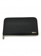 serapian(セラピアン)の古着「ラウンドファスナー長財布」 ブラック
