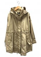TATRAS×Demi-Luxe BEAMS(タトラス×デミルクスビームス)の古着「ナイロンコットンコート」|ベージュ
