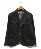 JUNYA WATANABE CDG(ジュンヤワタナベコムデギャルソン)の古着「デニムジャケット」|ブラック