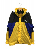 THE NORTH FACE(ザノースフェイス)の古着「XXX Triclimate Jacket/マウンテンパーカ」|イエロー×ブラック×ブルー