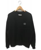 doublet(ダブレット)の古着「刺繍スウェット」|ブラック