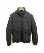 Martin Margiela(マルタンマルジェラ)の古着「ステッチジャケット」|ブラック