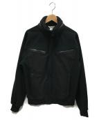 COMME des GARCONS SHIRT(コムデギャルソンシャツ)の古着「切替ジップアップジャケット」|ブラック