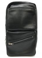 LUGGAGE LABEL(ラゲッジ レーベル)の古着「ボディーバッグ」|ブラック