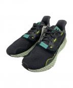 adidas Originals()の古着「スニーカー」 ブラック×グリーン
