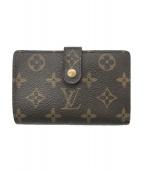LOUIS VUITTON(ルイヴィトン)の古着「2つ折り財布」 ブラウン