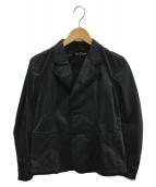 tricot COMME des GARCONS(トリコ コムデギャルソン)の古着「2Bジャケット」 ブラック