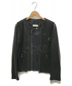 FACETASM(ファセッタズム)の古着「ライダースジャケット」 ブラック