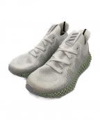 adidas(アディダス)の古着「アディダス アルファエッジ 4D」 ホワイト×ミント