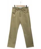ISSEY MIYAKE(イッセイミヤケ)の古着「パンツ」|ベージュ