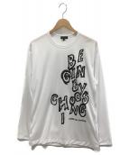 COMME des GARCONS HOMME PLUS(コムデギャルソンオムプリュス)の古着「ロングスリーブカットソー」|ホワイト