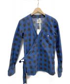 TAKAHIROMIYASHITA TheSoloIst.(タカヒロミヤシタザソロイスト)の古着「羽織シャツ」|ブルー