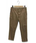 VISVIM(ビズビム)の古着「HIGH-WATER CHINO」|ブラウン