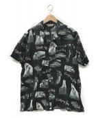 SCHOTT BROS.(ショットブロス)の古着「アロハシャツ」|ブラック