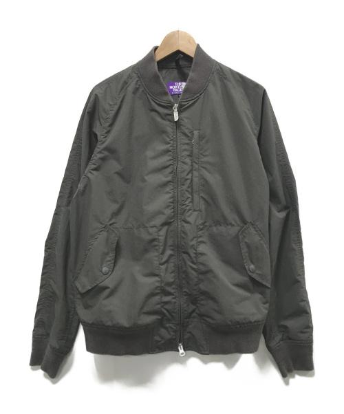 THE NORTHFACE PURPLELABEL(ザノースフェイスパープルレーベル)THE NORTHFACE PURPLELABEL (ザノースフェイスパープルレーベル) マウンテンウィンドジャケット グレー サイズ:Lの古着・服飾アイテム