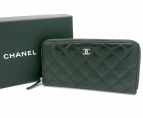 CHANEL(シャネル)の古着「長財布」 ブラック