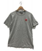 PLAY COMME des GARCONS(プレイコムデギャルソン)の古着「Tシャツ」|グレー