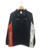 le coq sportif × CHARI & CO(ルコックスポルティフ チャリアンドコー)の古着「チームコーチジャケット」|ネイビー