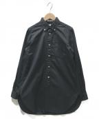 FWk Engineered Garments(エフダブリューケーエンジニアードガーメンツ)の古着「ボタンダウンシャツ」|ブラック