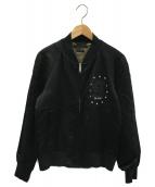 MARC JACOBS(マークジェイコブス)の古着「パッチドボマージャケット」|ブラック